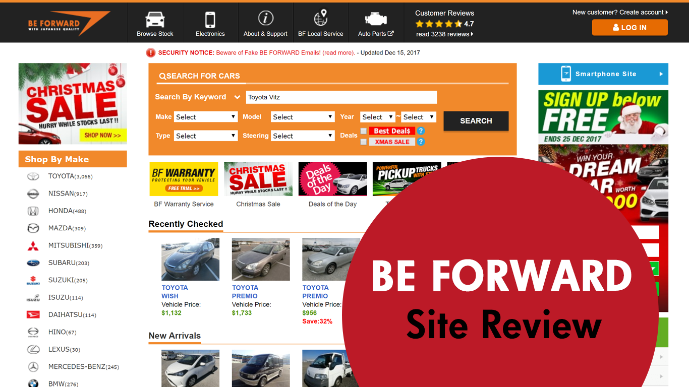 be forward used car site review. Black Bedroom Furniture Sets. Home Design Ideas