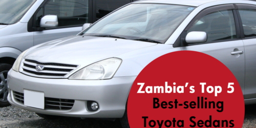 Best-selling Used Toyota Sedans in Zambia