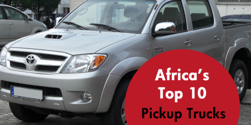 Africa's Top 10 Used Pickup Trucks
