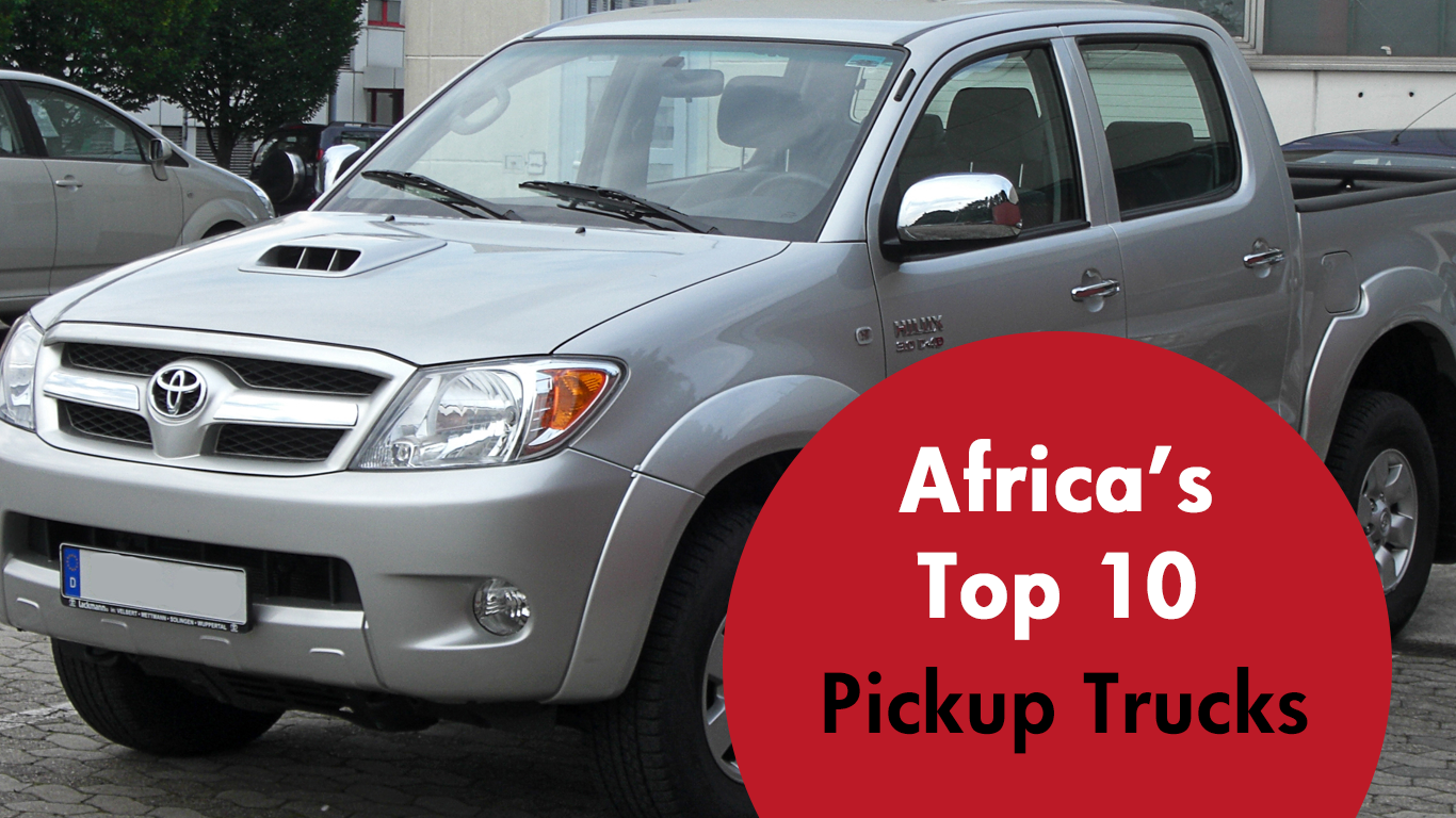 Trucks in Africa: Hit the Road with Africa\'s Top 10 Pickups ...