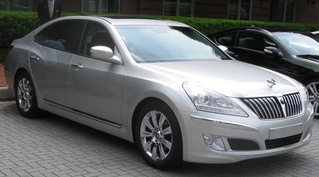 Used Hyundai Equus - JapanCarReviews