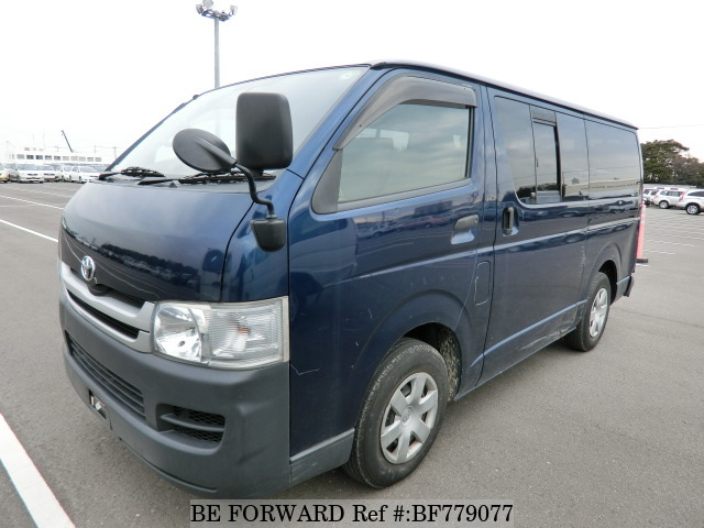 Used 2009 Toyota HiAce Van from BE FORWARD – JapanCarReviews com