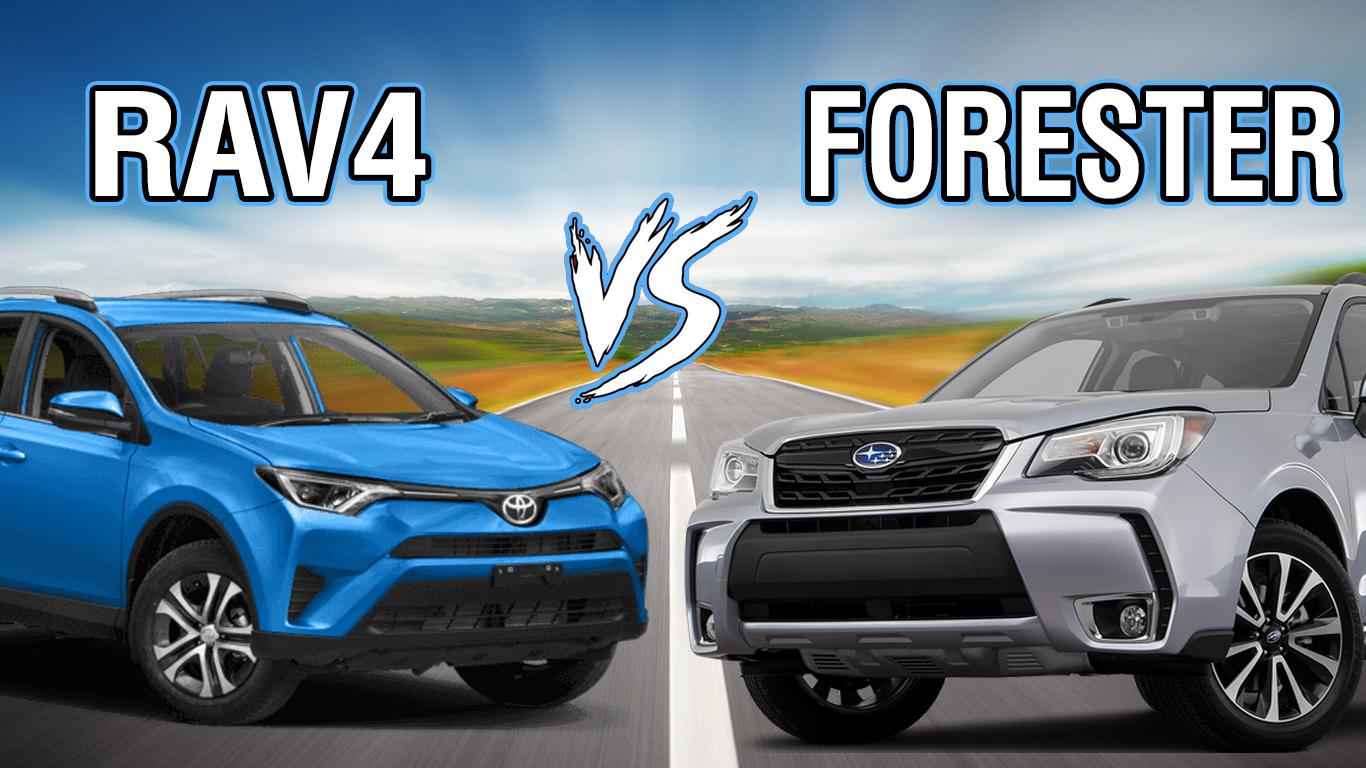 Toyota RAV4 Vs Subaru Forester SUV Comparison