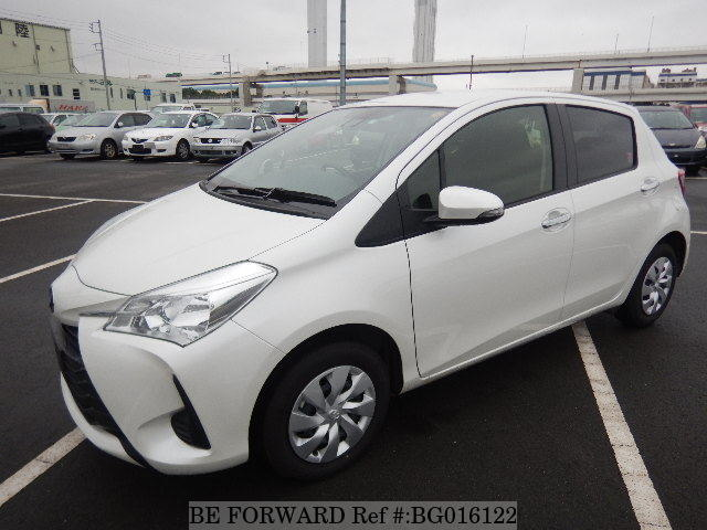 used toyota vitz from be forward