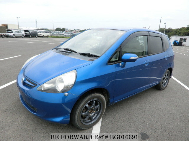 used cheap honda fit from japan car exporter be forward
