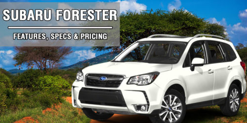 subaru forester used compact suv review